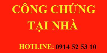 Congchungtainha.com chuyên công chứng tại nhà