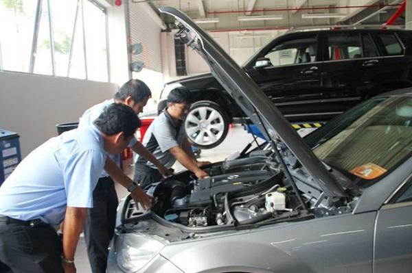 dịch vụ kiểm tra xe cũ