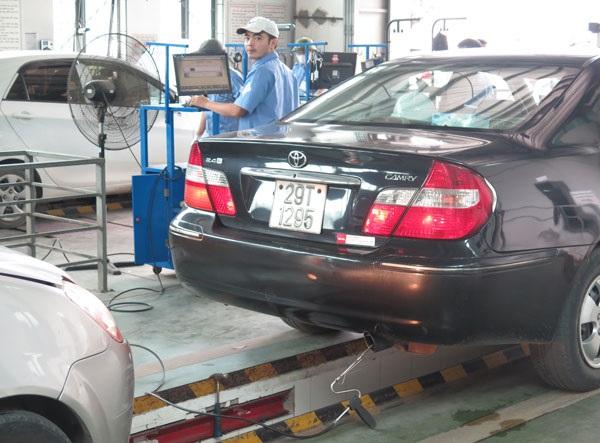 dịch vụ kiểm tra xe cũ hà nội