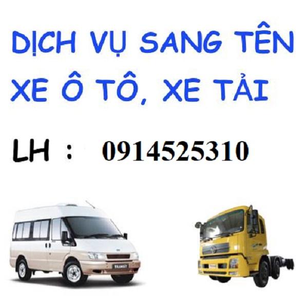 dịch vụ sang tên xe